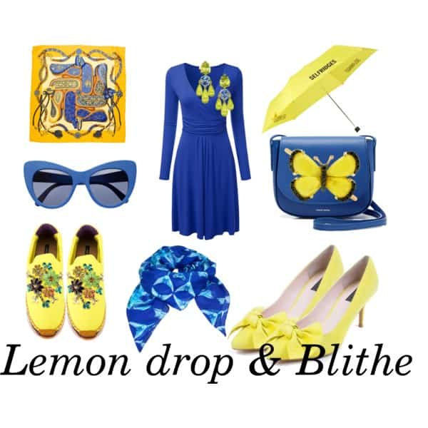 kleurkaart Lemon drop and Blithe