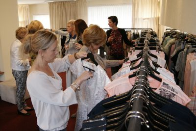 Personal shop event met kledingadvies