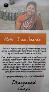 fairtrade artikelen India