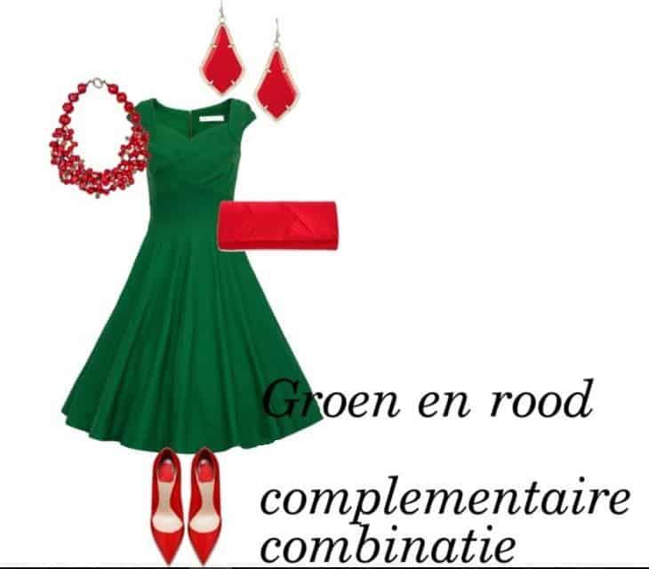 complementaire combinatie rood en groen