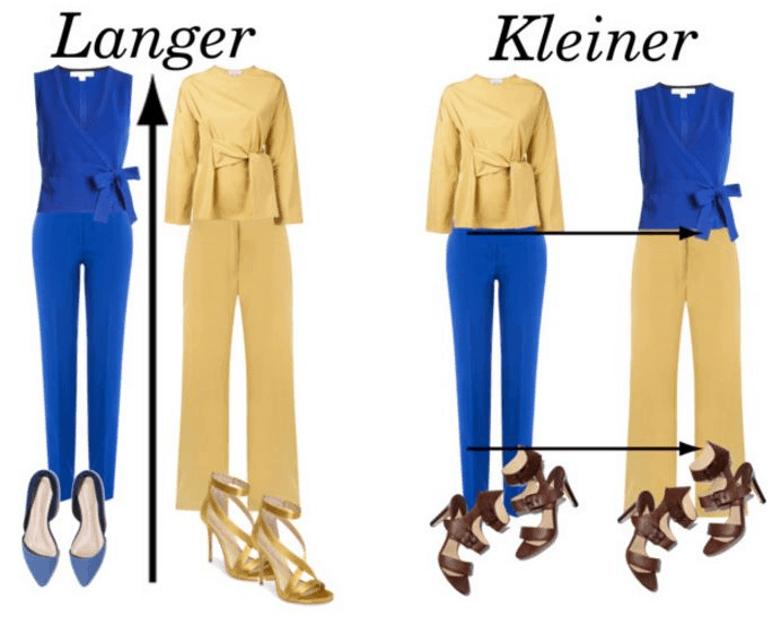 kledingtips om langer te lijken